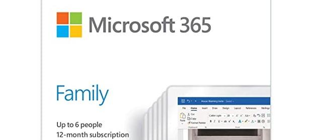 Microsoft Office 365 Home FAMILY 6-PC/MAC 1 Year - KEY - EUROPE