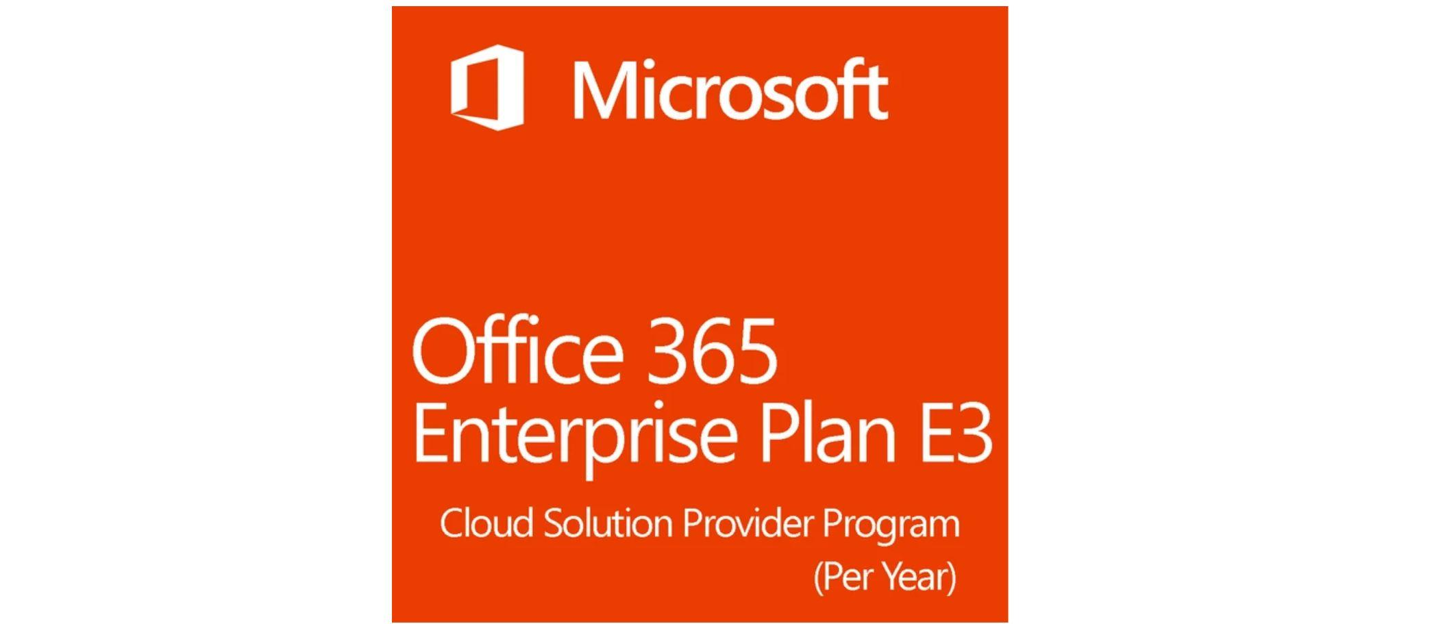 Microsoft Office 365 Enterprise E3 - KEY | 1 Year  - 1 User / 5 Devices GLOBAL